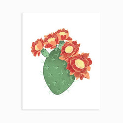 Linden Paper Co. - Prints - Prickly Pear Cactus
