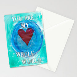 Kathleen Tennant - Card - You Are My Whole World