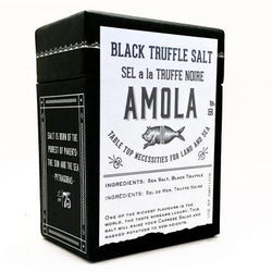 Amola salt black truffle