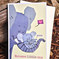 PicklePunch - Card - Welcome Little One