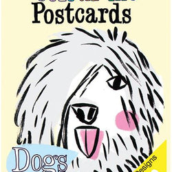Draw Me A Lion - Colouring Postcard Booklet - Dog Themed