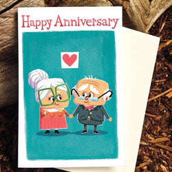 Pickle Punch – Greeting Cards - Happy Anniversary