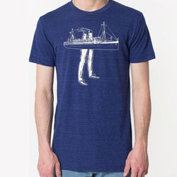Robbie Vergara - t-shirt - sea legs