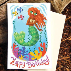 Pickle Punch - Card - Mermaid Birthday