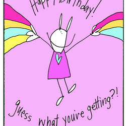 RabbitRabbit - Card - Hotflashes Birthday