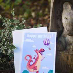 Pickle Punch – Greeting Cards - Happy Birthday Dragon