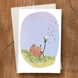 Pickle Punch – Greeting Cards - Hedgehog and Dandelion