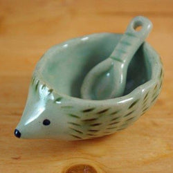 Kayo Benson - Hedgehog Dish with Spoon
