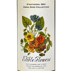 Strathcona 1890 - Edible Flowers Seeds Tins
