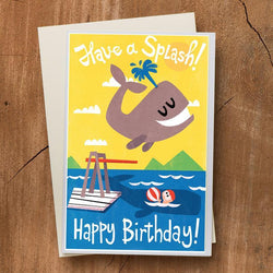 Pickle Punch – Greeting Cards - Whale Birthday Card