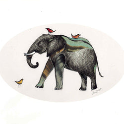 Sarch Clement – Print – Elephant