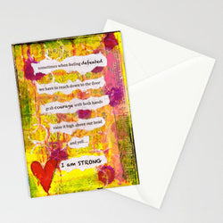 Kathleen Tennant - Card - I Am Strong