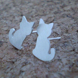 Kate Fehr - Earrings - Cat Stud