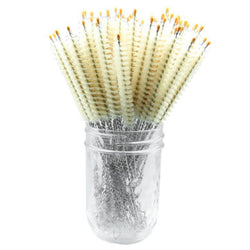 Glass Sipper - Natural Bristle Cleaning Brush