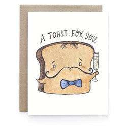 Art + Soul Creative Co - Laura Uy - Greeting Card - A toast for you