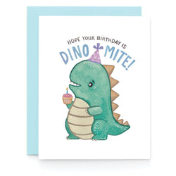 Art + Soul Creative Co - Laura Uy - Greeting Card - Dinomite Birthday