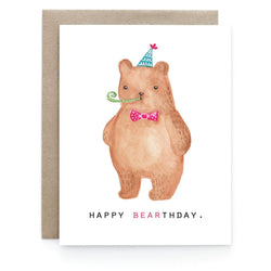 Art + Soul Creative Co - Laura Uy - Greeting Card - Happy Bearthday