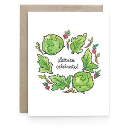 Art & Soul Creative Co - Card – Laura Uy - Lettuce celebrate