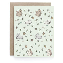 Art + Soul Creative Co - Laura Uy - Greeting Card - Meadow creatures