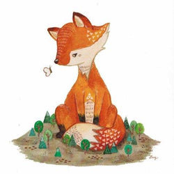 Art & Soul Creative Co - Prints - Farrah The Fox