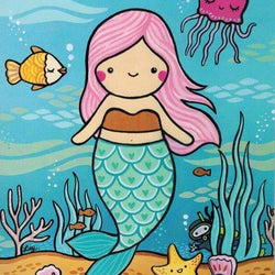 Art & Soul Creative Co - Prints - Mermaid