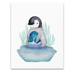 Art & Soul Creative Co - Prints - Dumpling the Penguin