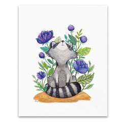 Art & Soul Creative Co - Prints - Roxie The Raccoon