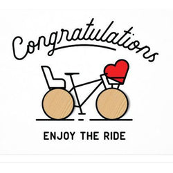 Studio Wilder - Enjoy the ride - Baby Greeting card