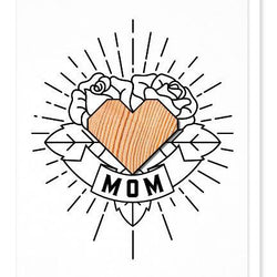Studio Wilder Card - Mom Tattoo