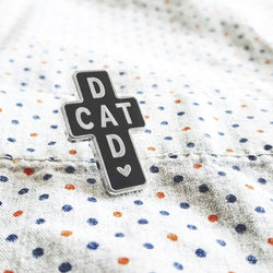 My Cat Is People - Enamel Pin - Cat Dad