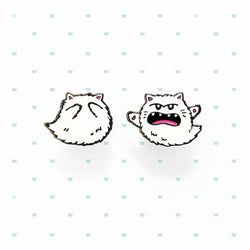 My Cat Is People - Enamel Pin - Kitty Boo Boo Buddie