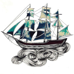 Sarch Clement - Print - Dreaming Ships