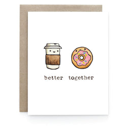 Art & Soul Creative Co - Card - Coffee + Donut
