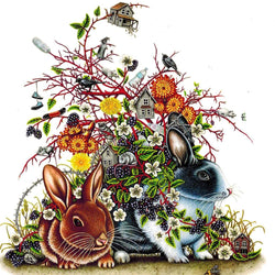 Brandy Masch - Print - Double Rabbit