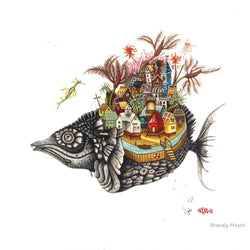 Brandy Masch - Print - Grey Fish