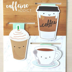 Craftedvan - Bookmark - Caffeine Gift Set