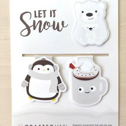 Craftedvan - Bookmark - Let it Snow Gift Set