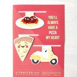 Craftedvan - Bookmark - Pizza Gift Set