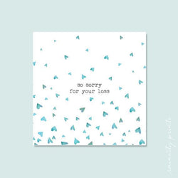 Raincity Prints - Card - Sorry For Your Loss