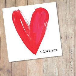 Raincity Prints - Cards - I Love You