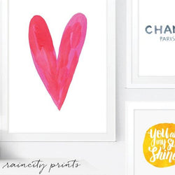 Raincity Prints - Prints - Heart Art