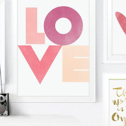Raincity Prints - Prints - Love Typographic