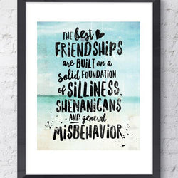 Raincity Prints - Prints - Best Friendships