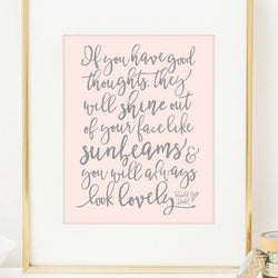 Raincity Prints - Prints - Roald Dahl Quote