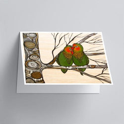 April Lacheur - Card - Lovebird Lust