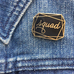Raincity Prints - Enamel Pins - Squad