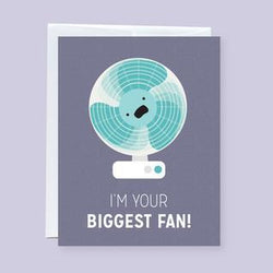 Craftedvan - Greeting Cards - Biggest Fan