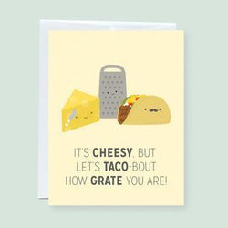 Craftedvan - Greeting Cards - I Know It's Cheesy