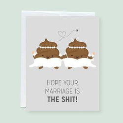 Craftedvan - Greeting Cards - Wedding Poop (Brides Only)