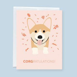 Craftedvan - Greeting Cards - CORGratulation